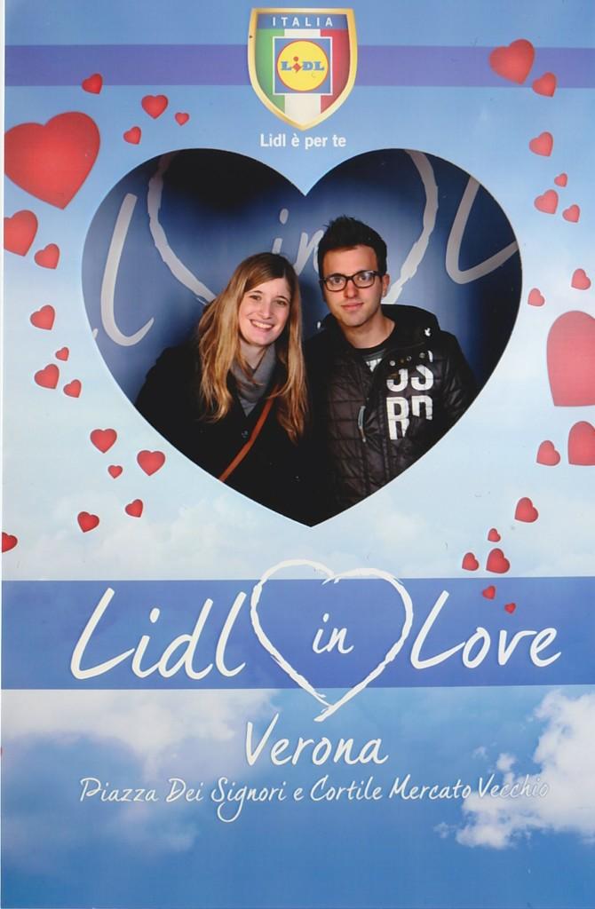 Lidl Verona in love