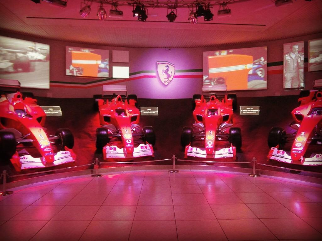 Sala delle Vittorie Museo Ferrari Maranello