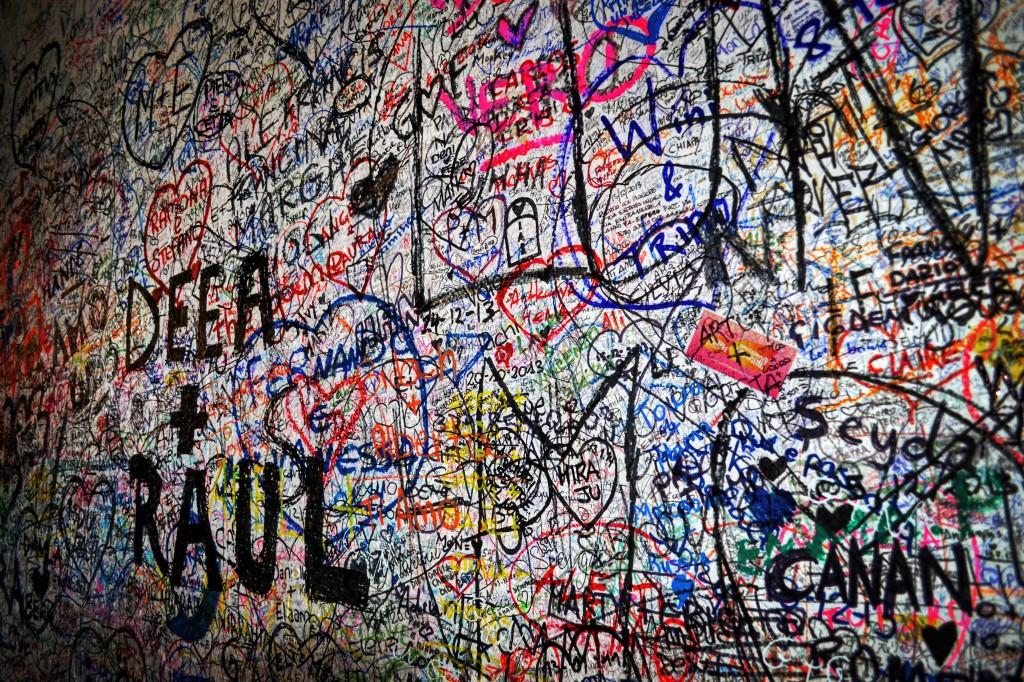 Muro Casa di Giulietta Verona