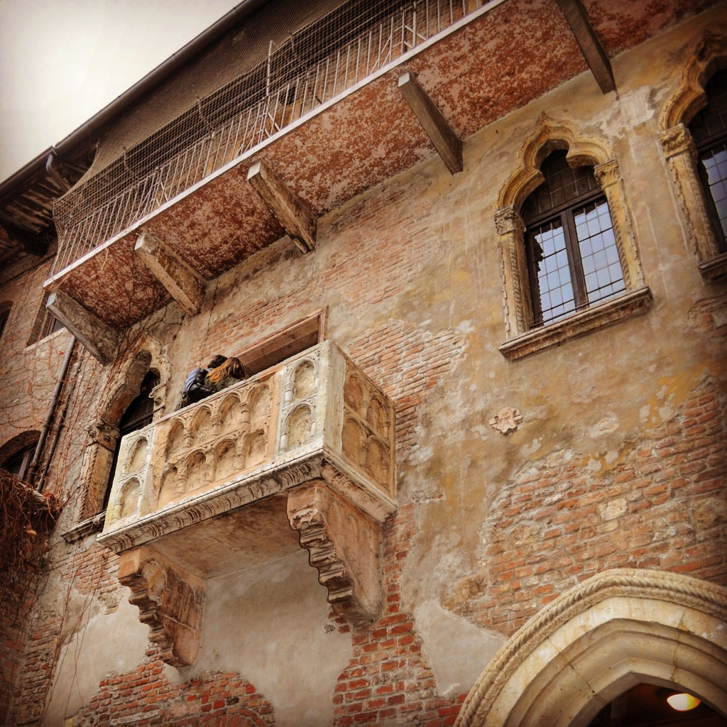 Balcone Casa di Giulietta Verona