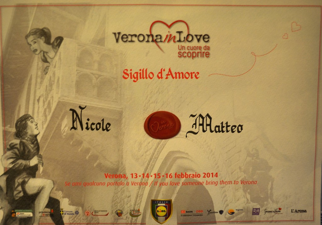 Sigillo d'amore Verona