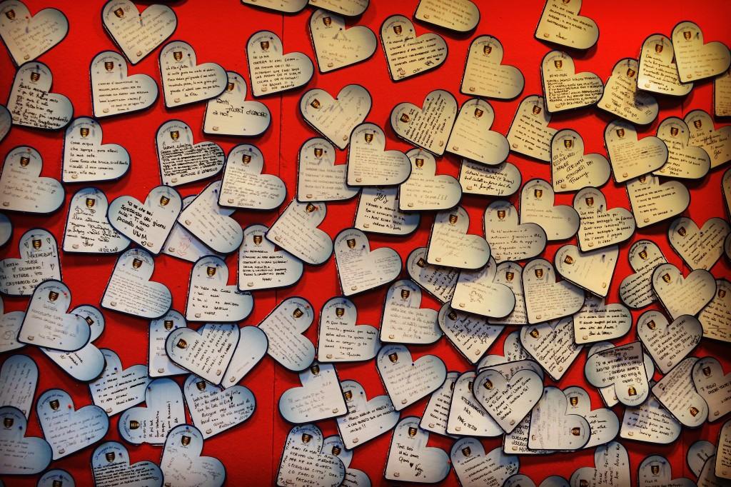 Messaggio del cuore Verona