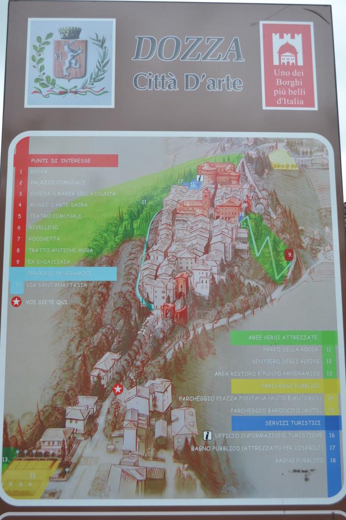 Mappa Dozza