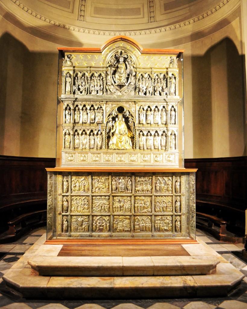 Altare argenteo di San Jacopo Pistoia