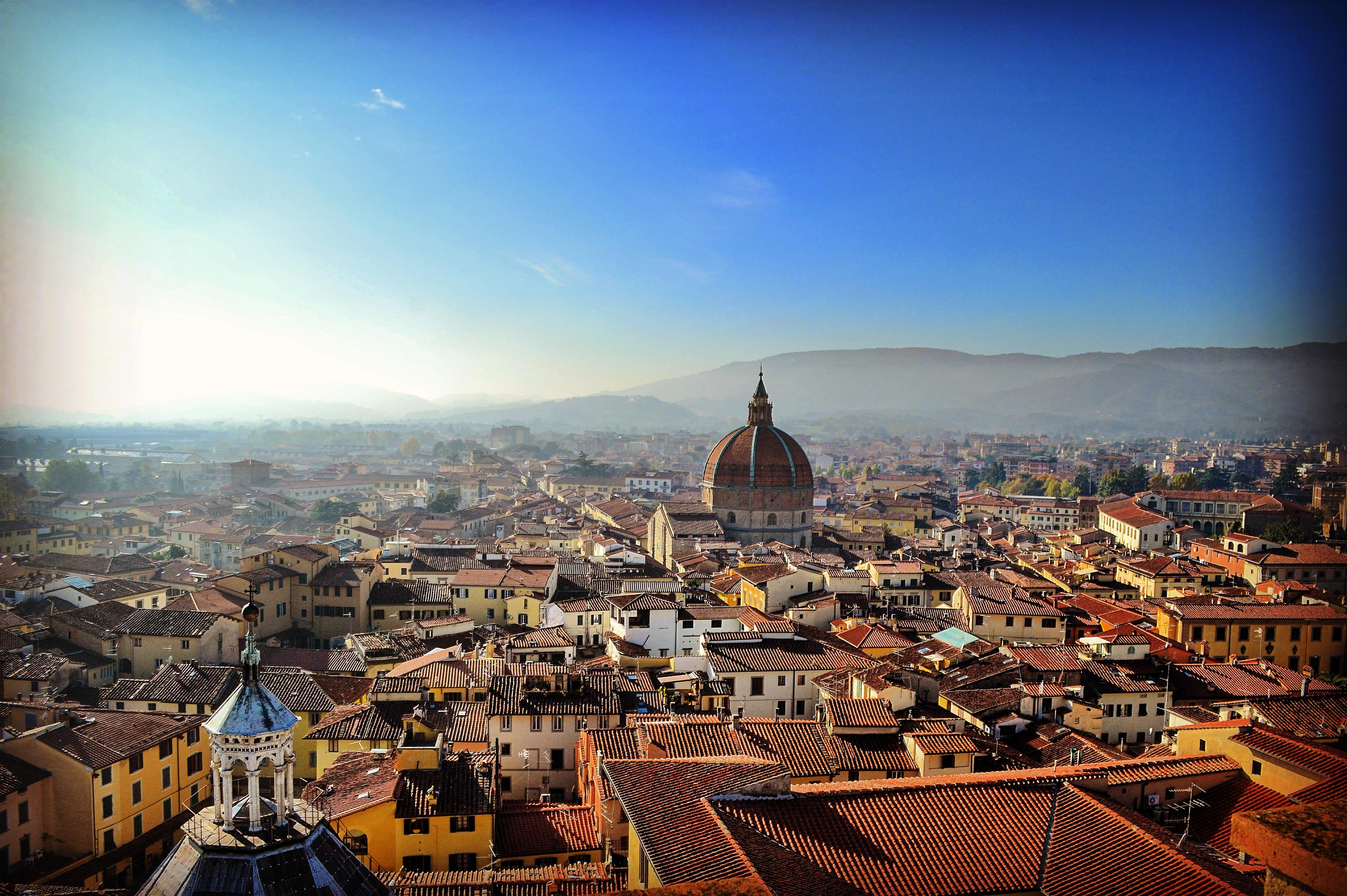 Panorama dal Campanile Pistoia