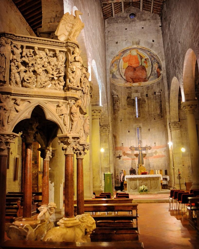 Pulpito di Sant'Andrea Pistoia