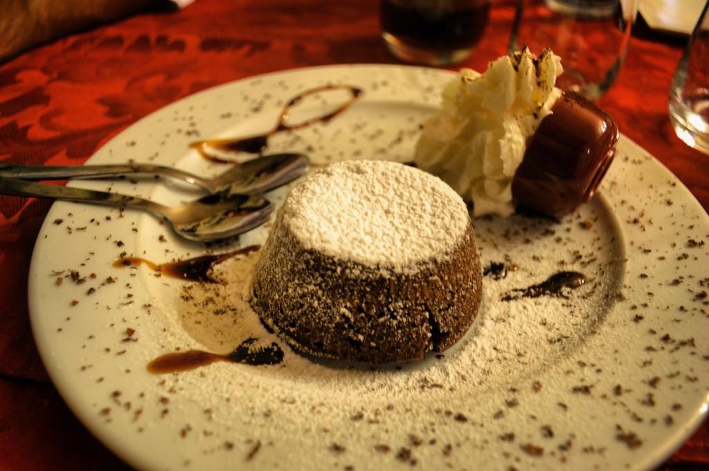 Flan al cioccolato Settimo Sigillo Perugia