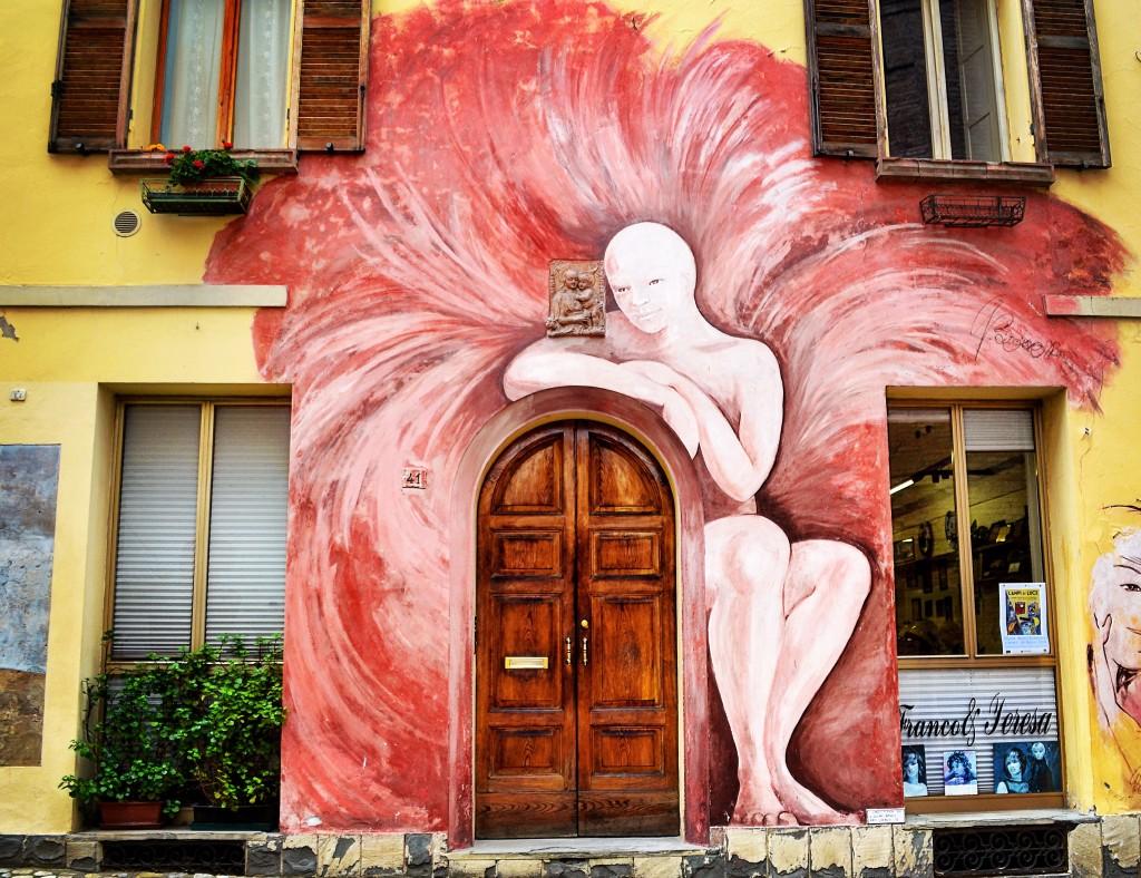 L'Angelo di Dozza Muro Dipinto