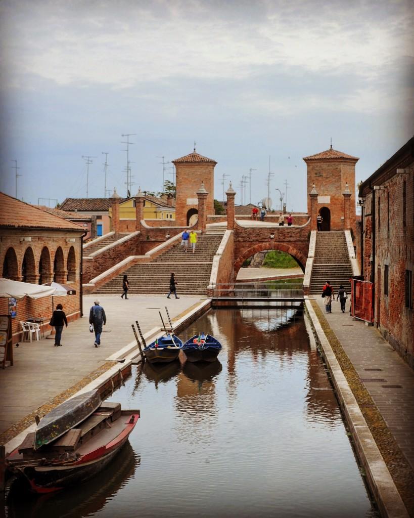 Trepponti da Ponte degli Sbirri Comacchio