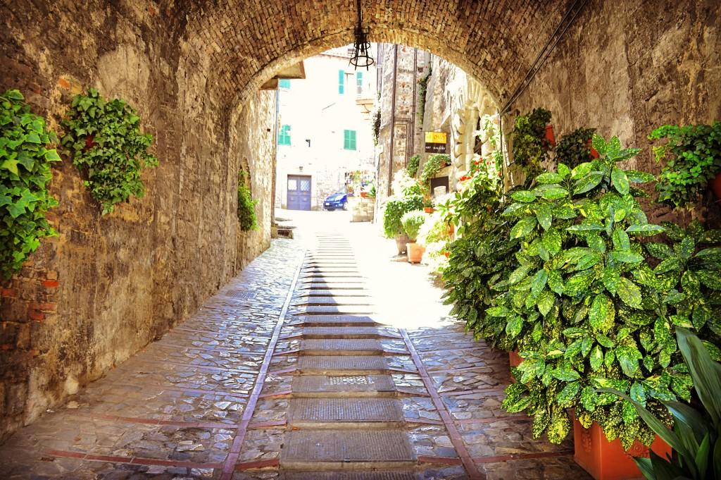 Vicoli Todi