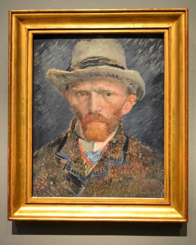 Rijksmuseum Amsterdam Van Gogh Ritratto