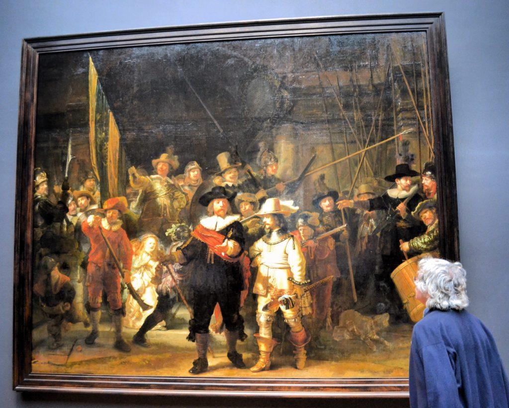 Rijksmuseum Ronda di Notte Rembrandt