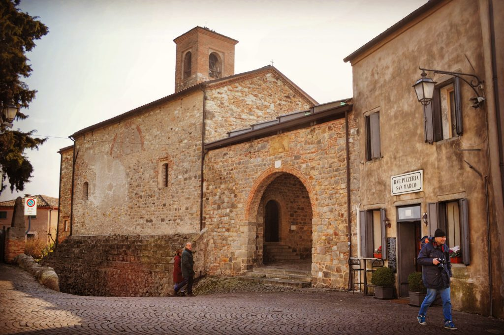 Oratorio della Santissima Trinità Arquà Petrarca