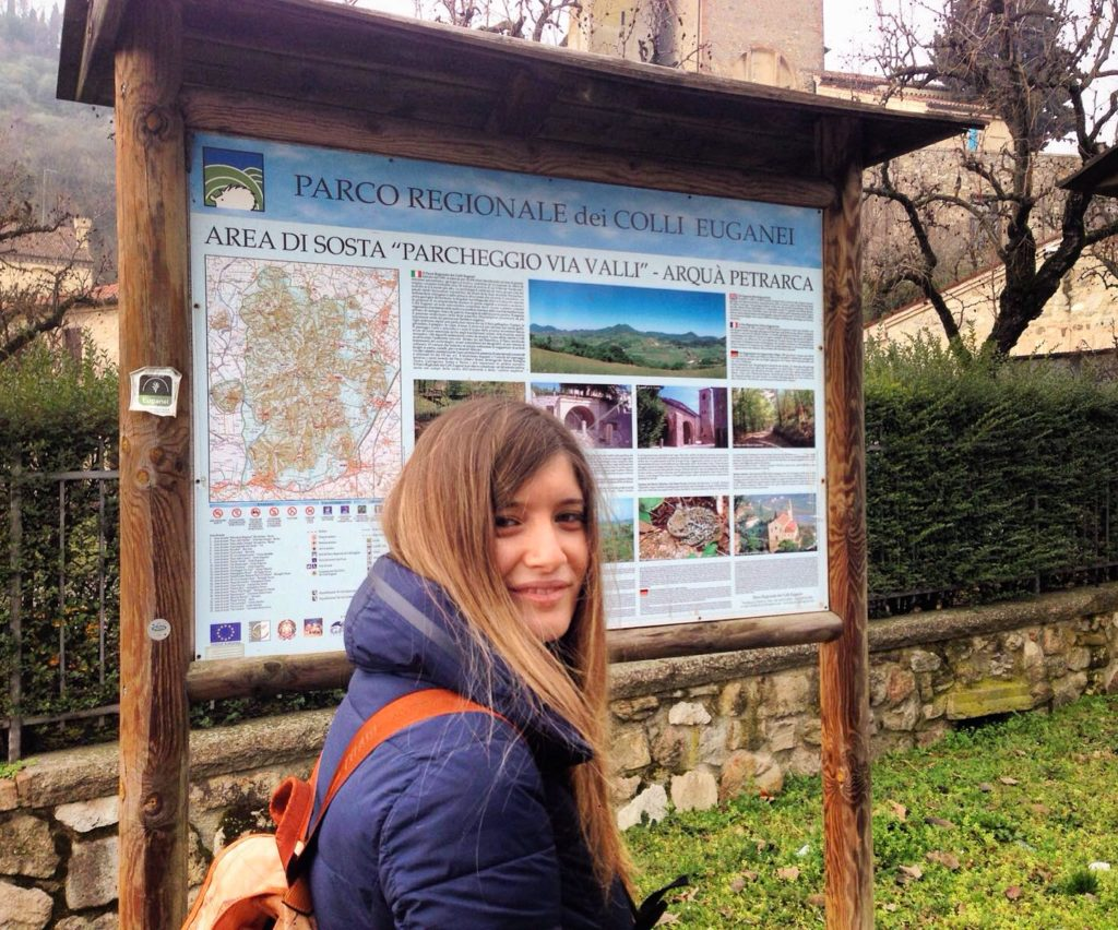 Arquà Petrarca parcheggio