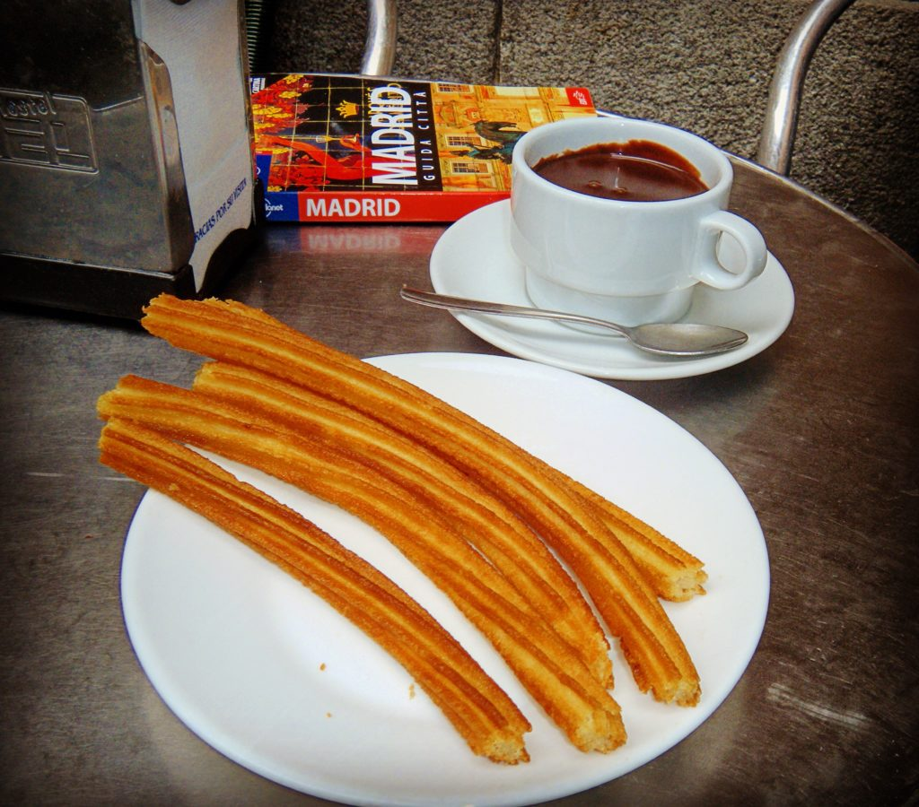 Chocolate y churros Chocolatería San Ginés Madrid
