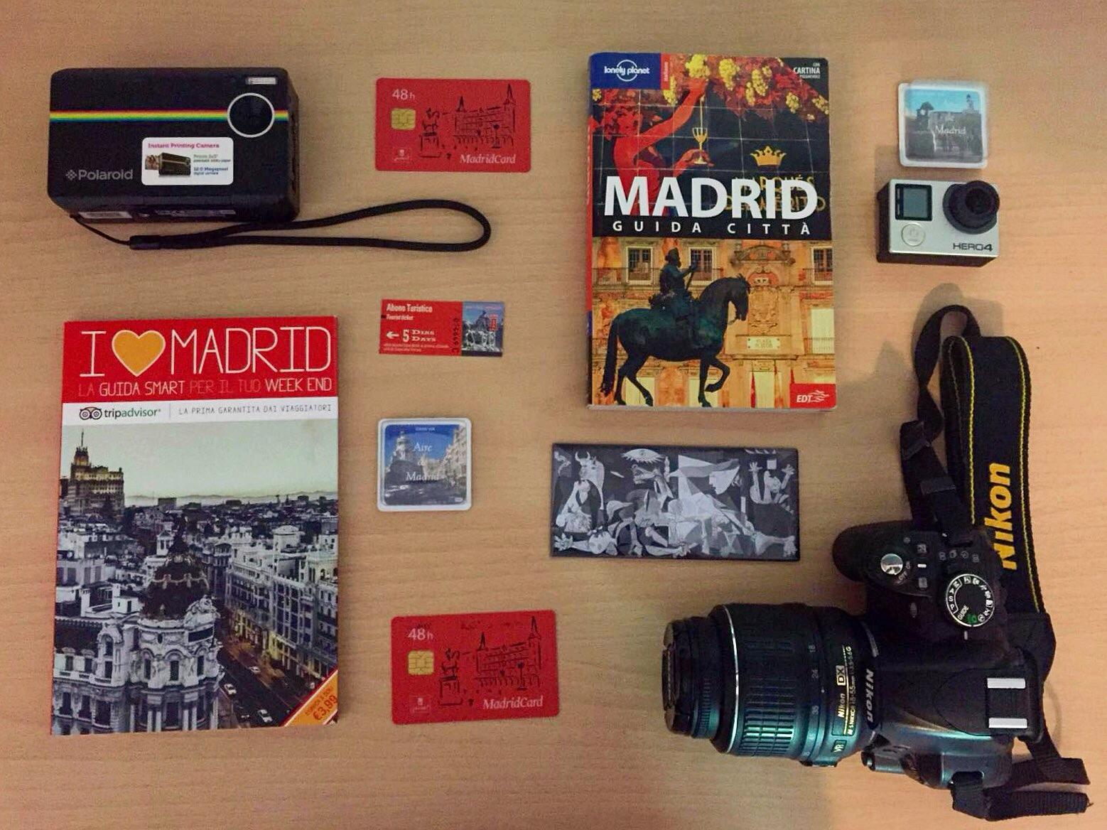 Madrid organizzare viaggio