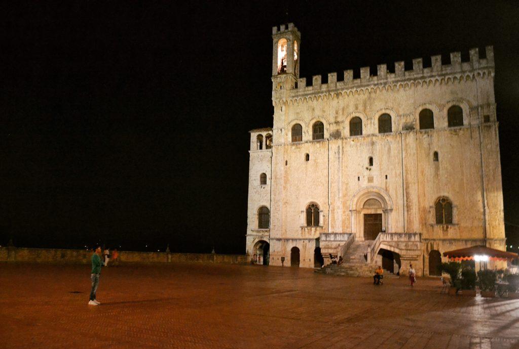 Palazzo dei Consoli Piazza Grande Gubbio