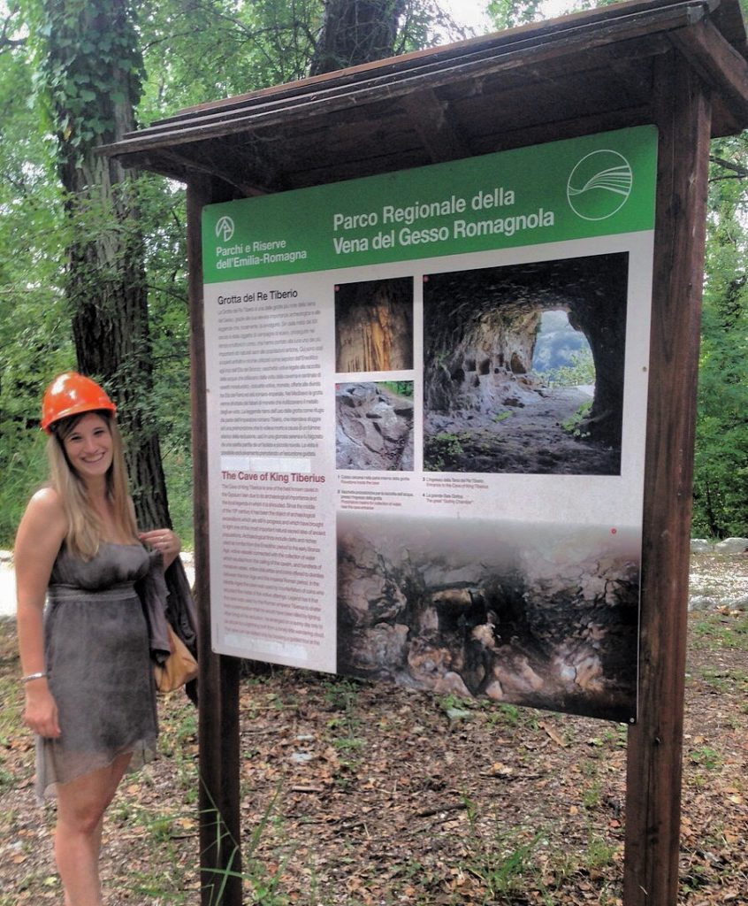 Parco Regionale della Vena del Gesso Grotta del Re Tiberio Riolo Terme