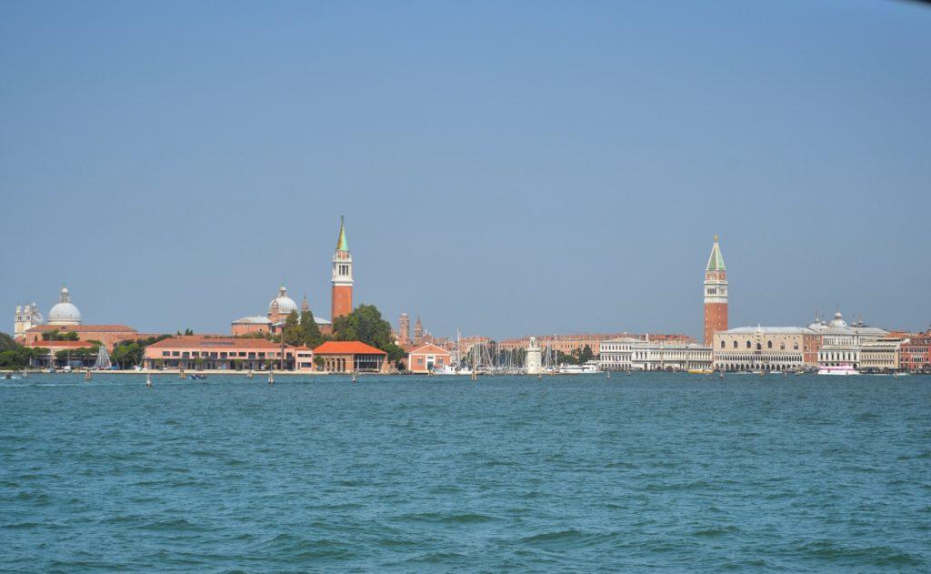 Venezia dall'acqua