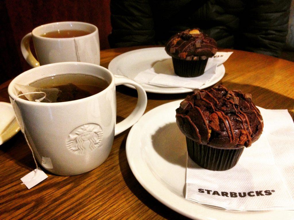 Colazione da Starbucks Amsterdam