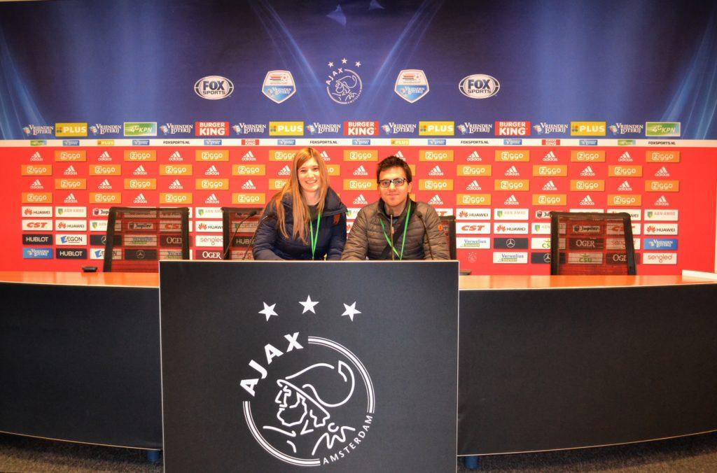 Amsterdam ArenA Stadium tour sala stampa