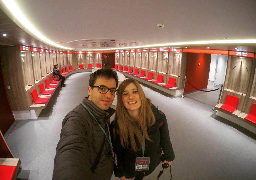 Amsterdam ArenA stadium tour spogliatoi