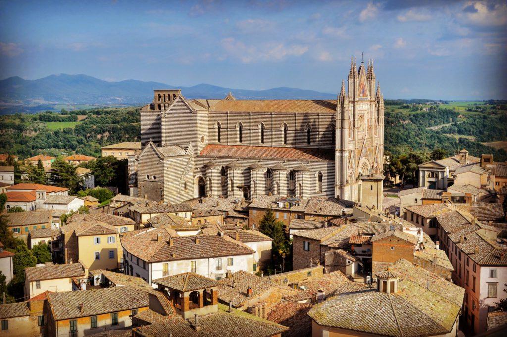 Duomo di Orvieto dalla Torre del Moro