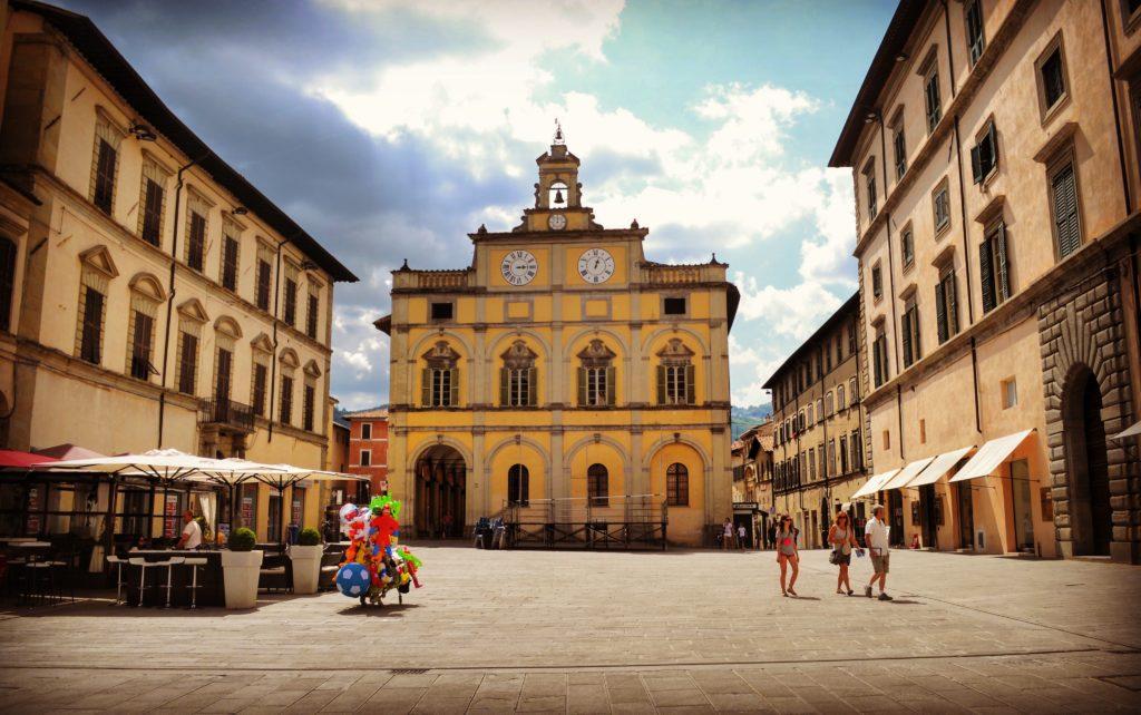 Piazza Matteotti Città di Castello