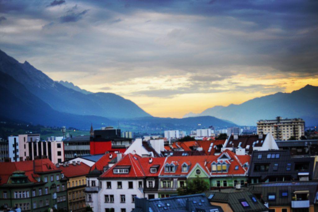 Hotel Hilton Innsbruck vista panoramica