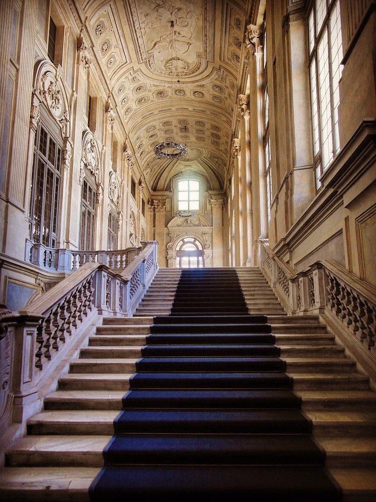 Palazzo Madama Torino Scalone d'onore Filippo Juvarra