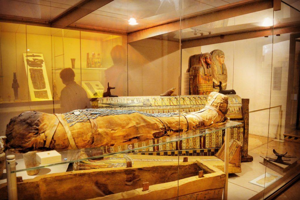 Museo Civico Archeologico Bologna sezione egiziana