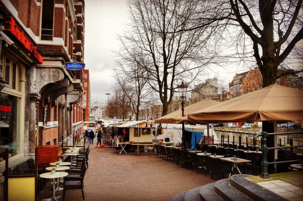 Mercato delle pulci di Waterlooplein
