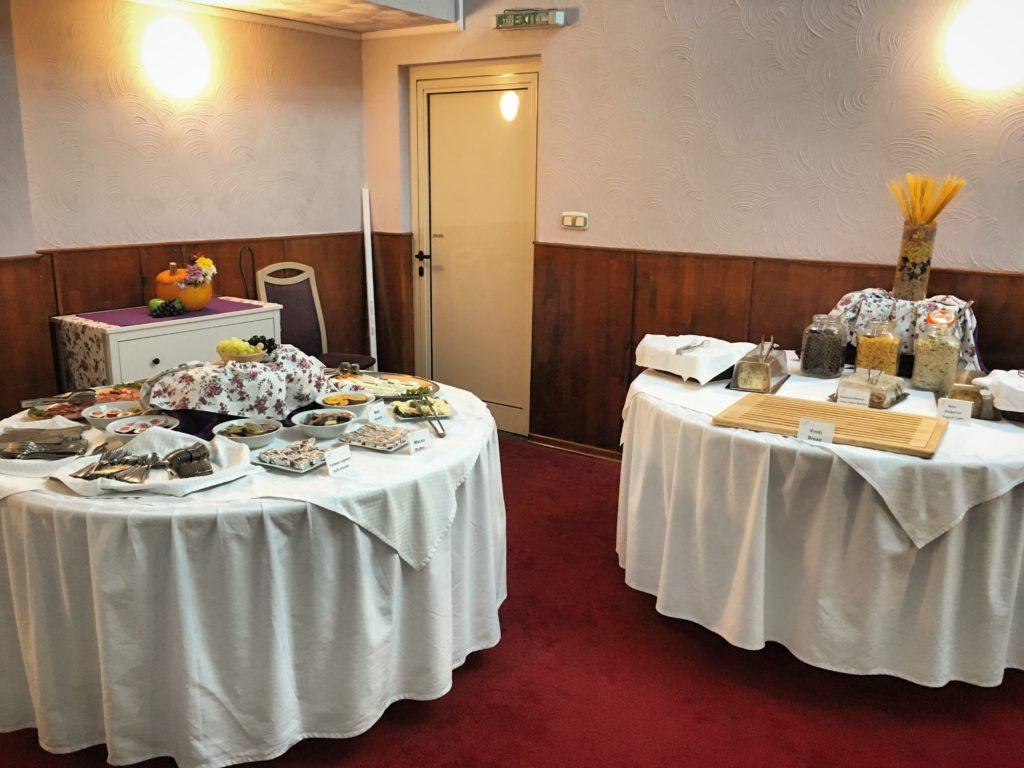 Hotel Light Sofia colazione