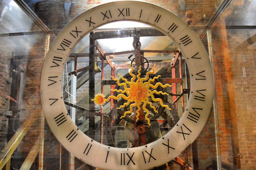 Campanile di Sant'Andrea orologio più antico del mondo Chioggia
