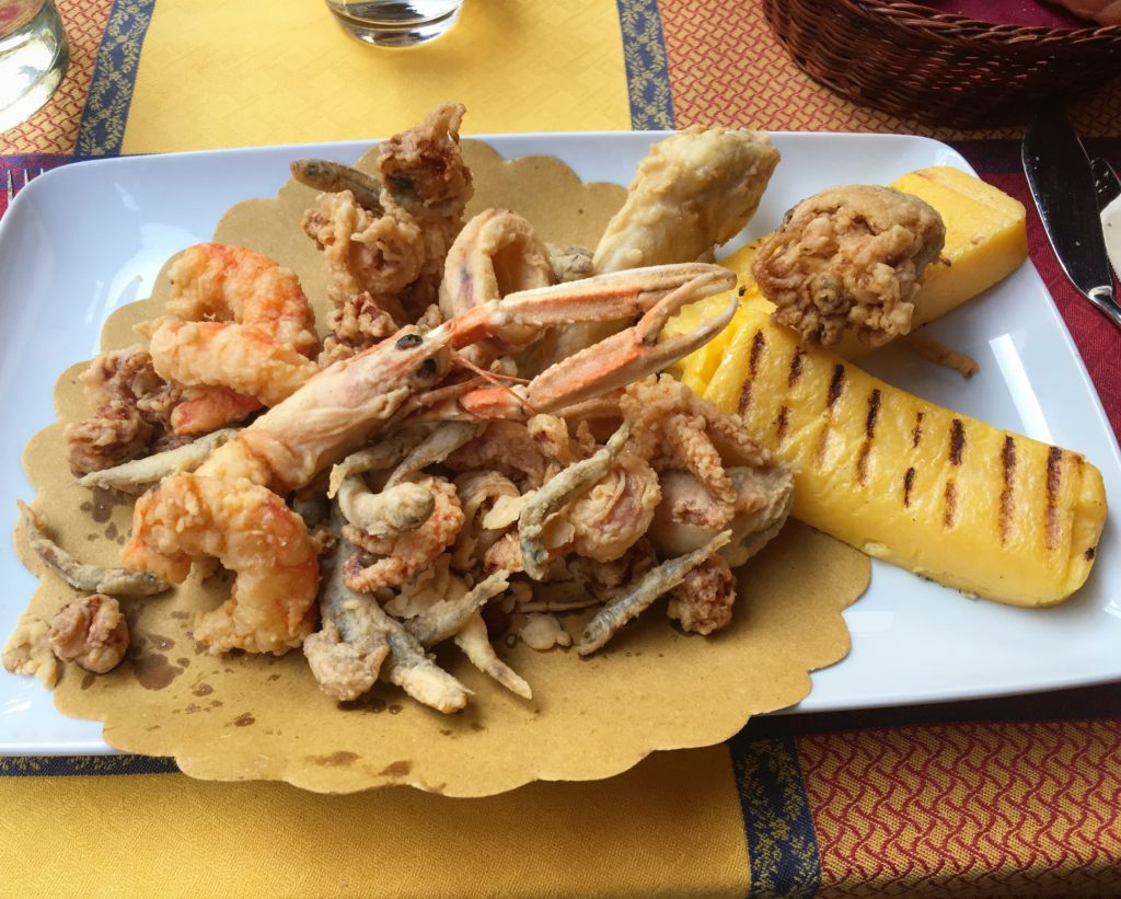 Ostaria N2 frittura mista Chioggia