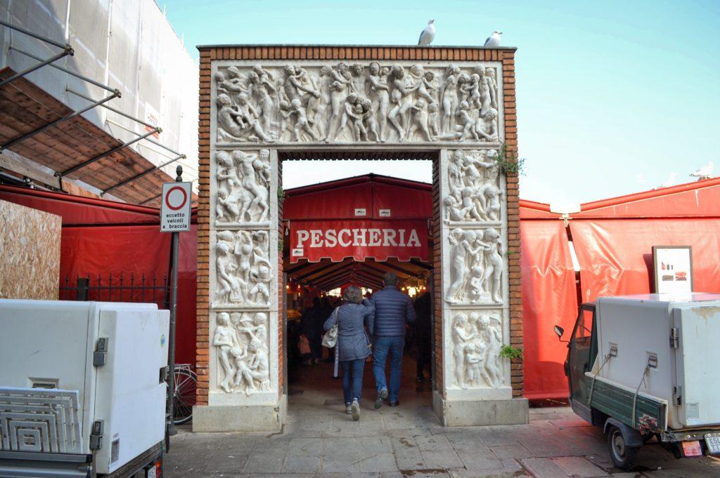 Pescheria al minuto mercato Chioggia