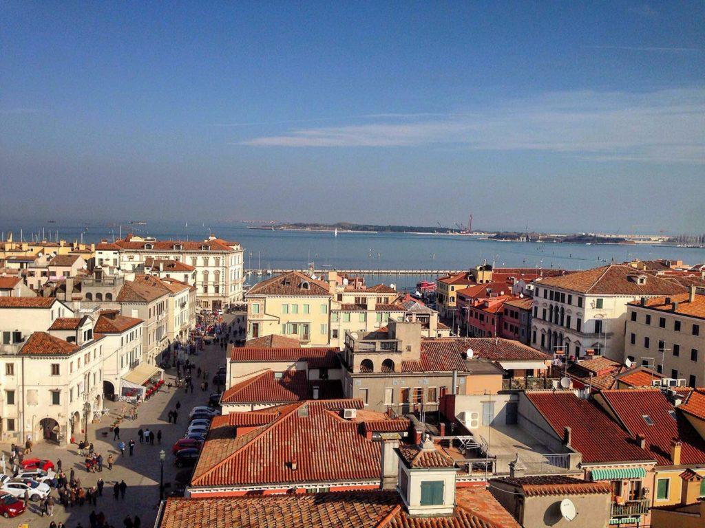 Panorama da Campanile di Sant'Andrea Chioggia