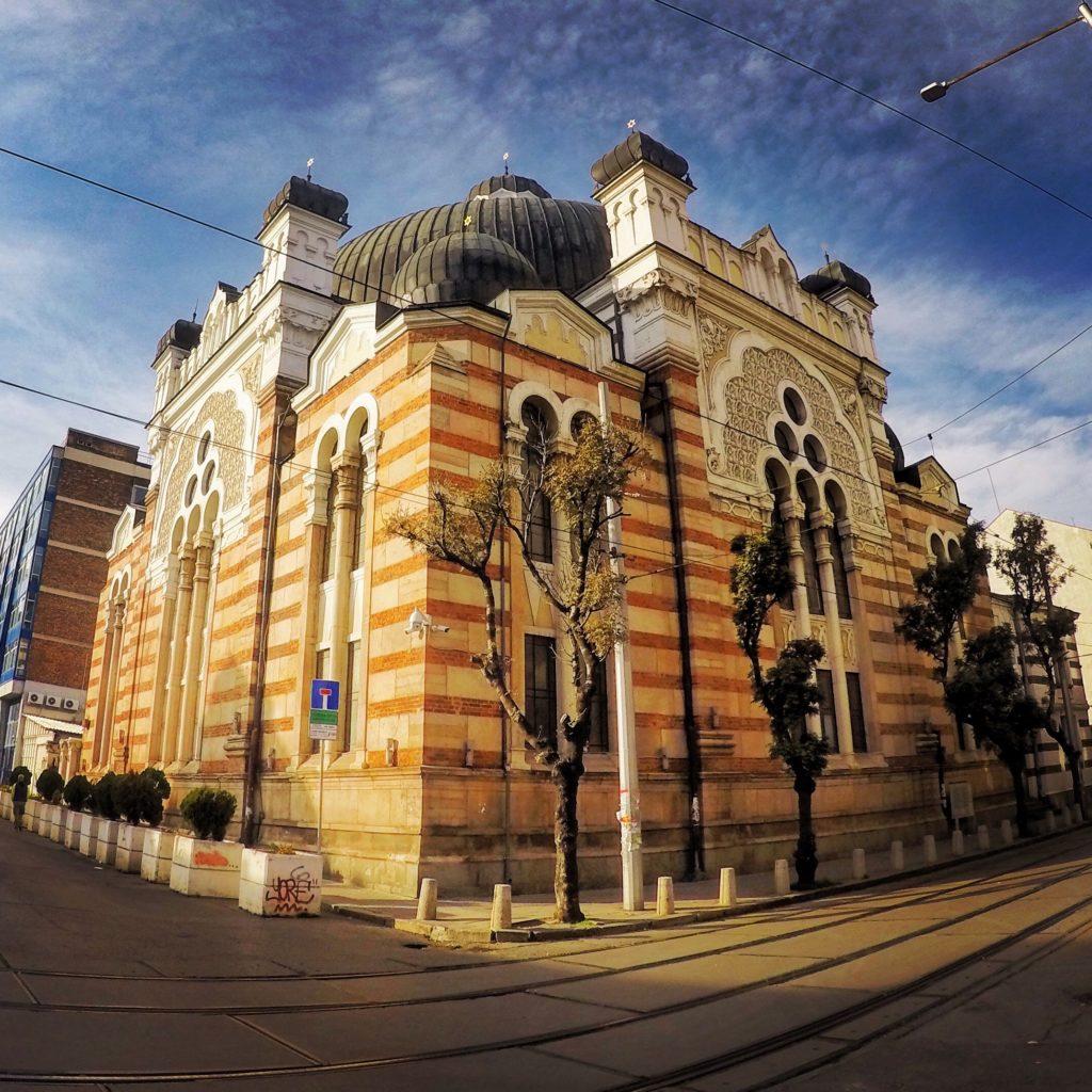 Sinagoga di Sofia Bulgaria