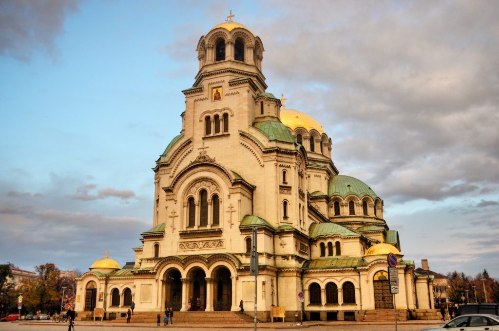 Cattedrale di Aleksander Nevski Sofia Bulgaria