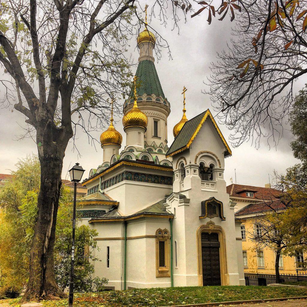 Chiesa di Sveti Nikolai Sofia Bulgaria