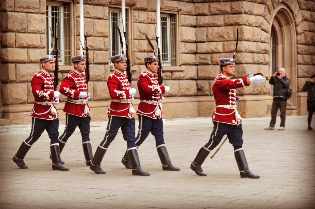 Cambio della Guardia Sofia Bulgaria