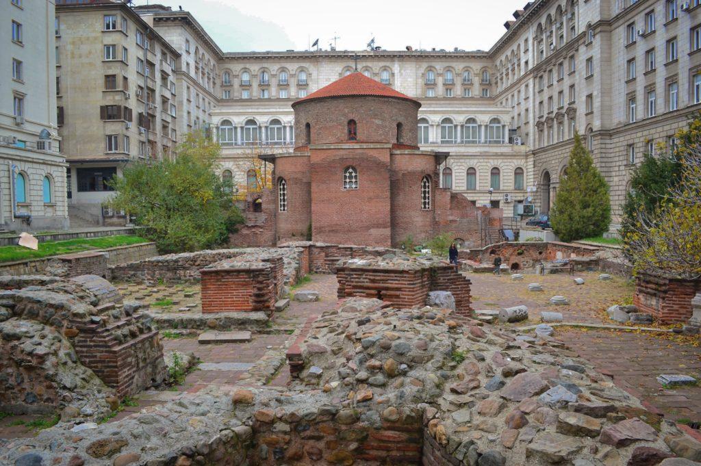 Rotonda di Sveti Georgi Sofia Bulgaria