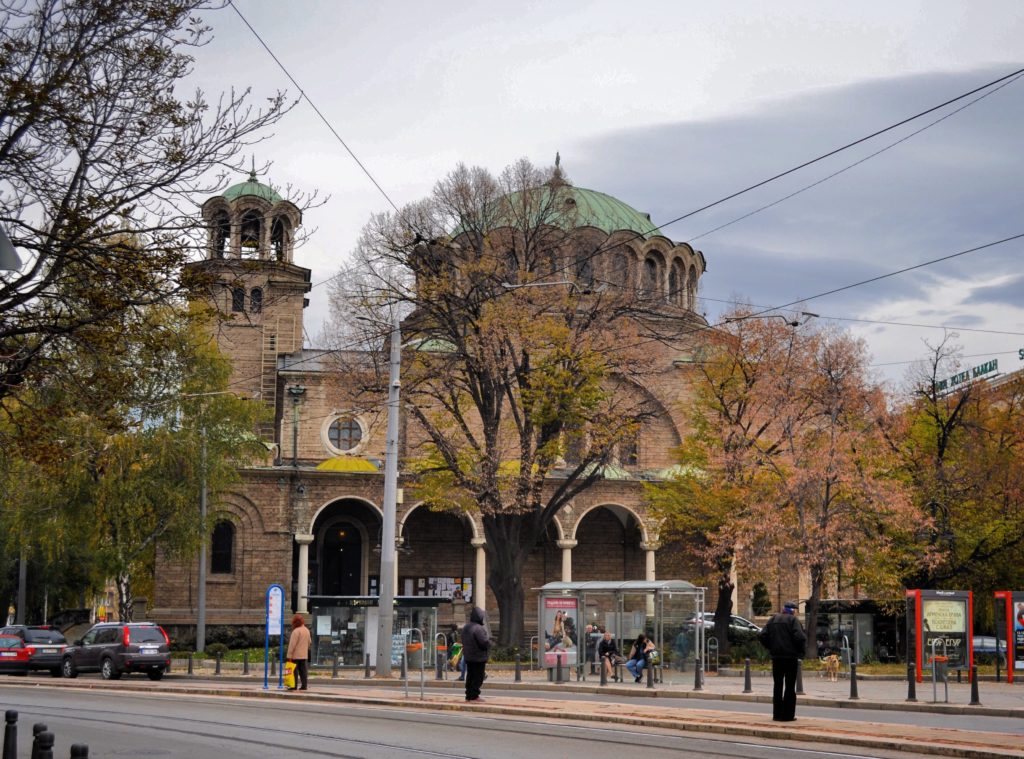Chiesa di Sveta Nedelya Sofia Bulgaria