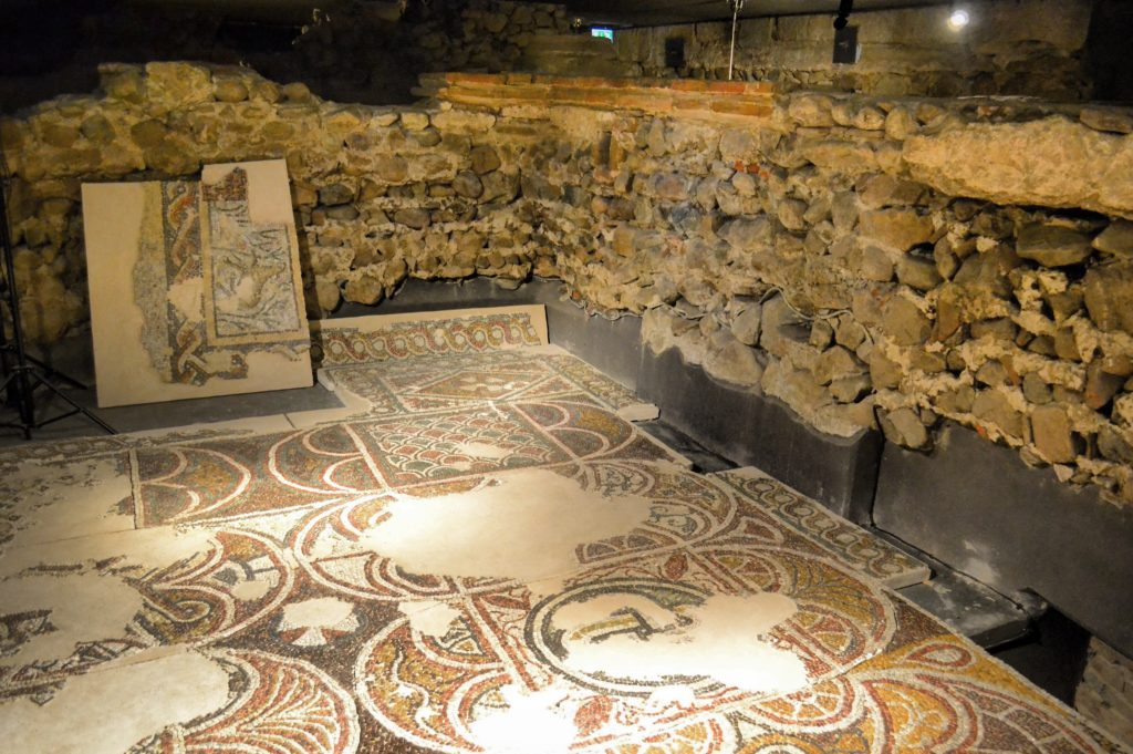 Sveta Sofia Underground Museum Necropolis Sofia Bulgaria