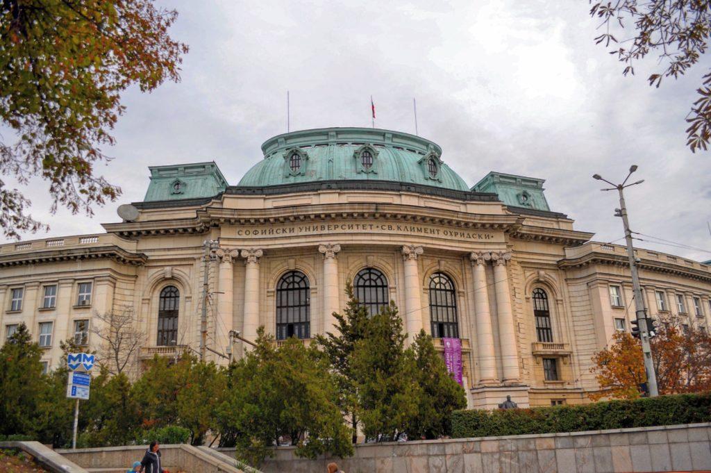 Università di Sofia Bulgaria