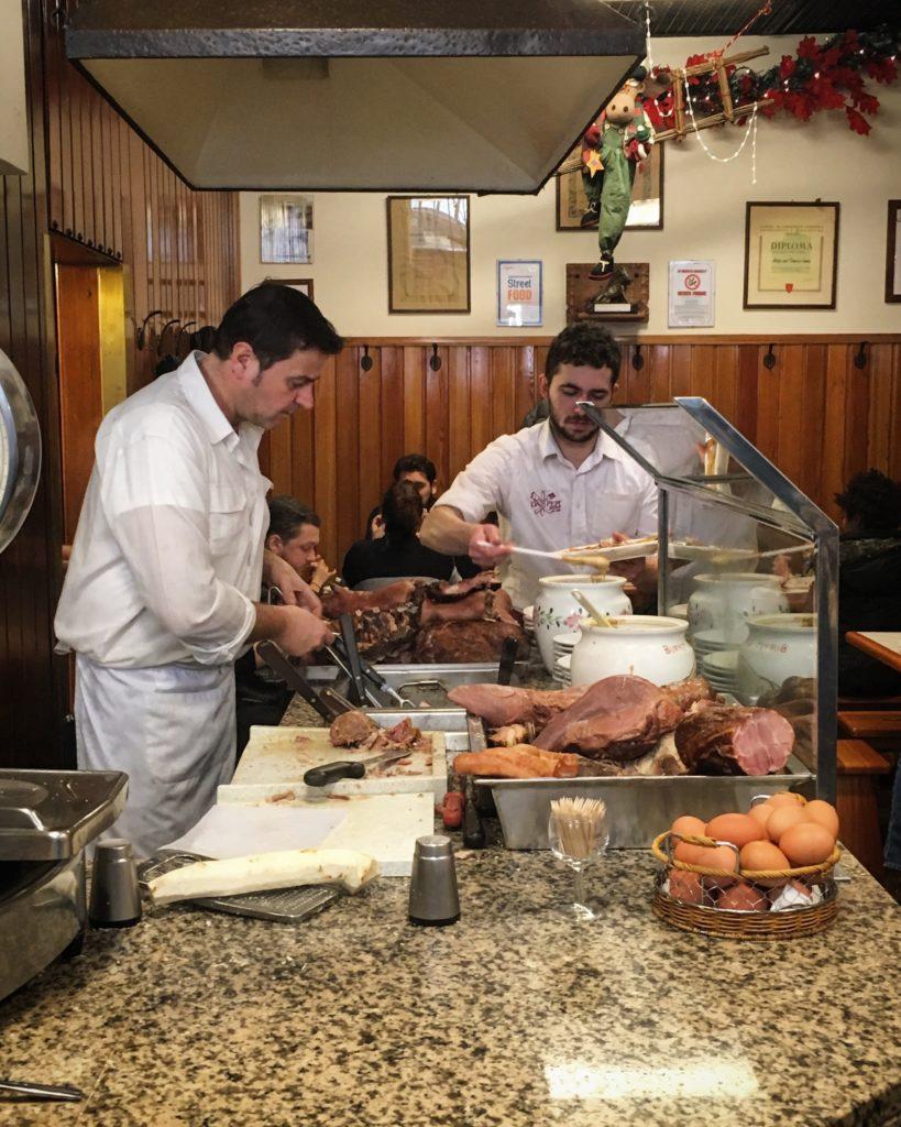 Buffet da Pepi Trieste la caldaia