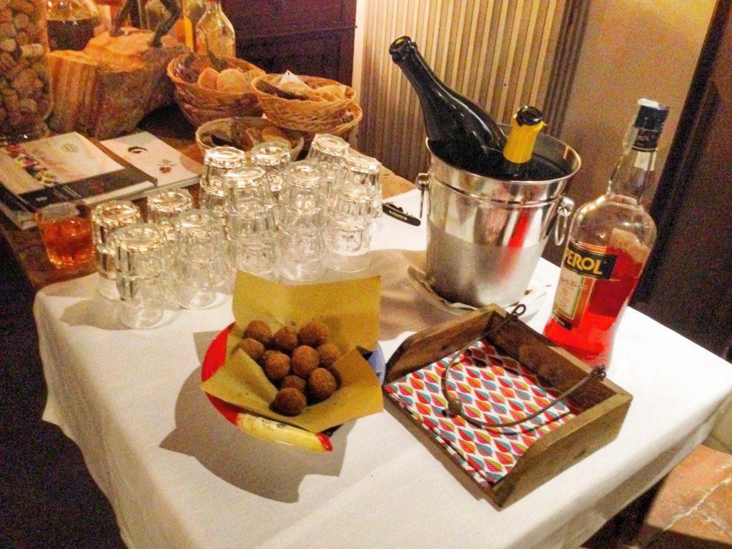 Agriturismo Podere Misericordia Ferrara aperitivo di benvenuto