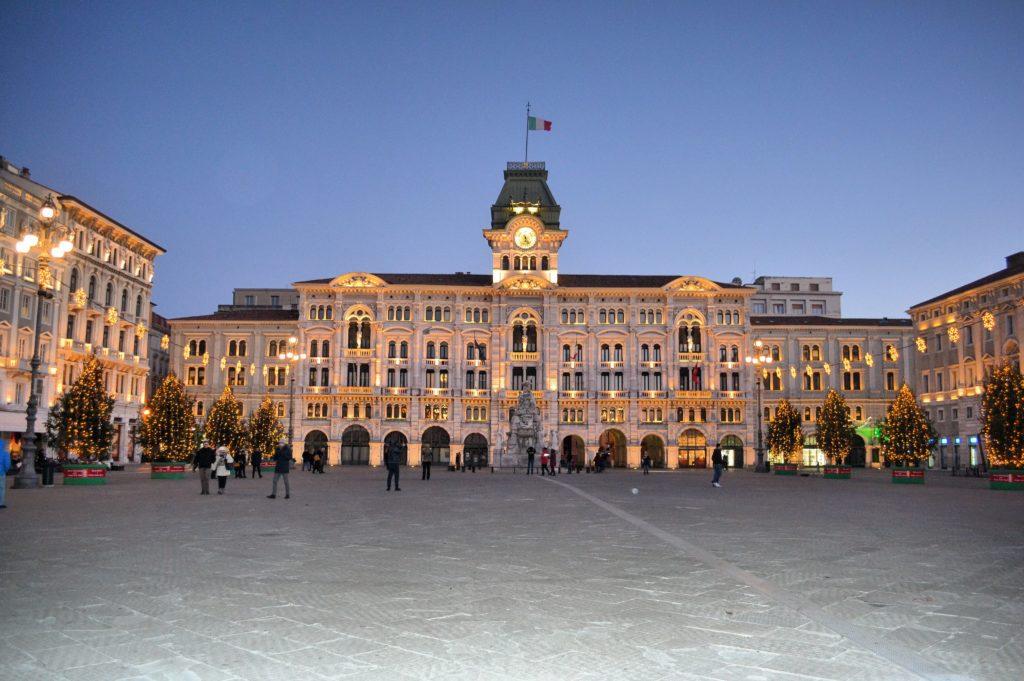 Piazza dell'Unità d'Italia Trieste