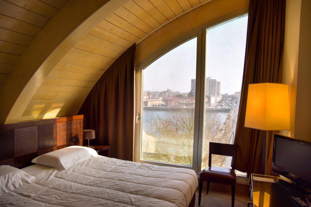 Hotel Mosaico Ravenna camera matrimoniale superior