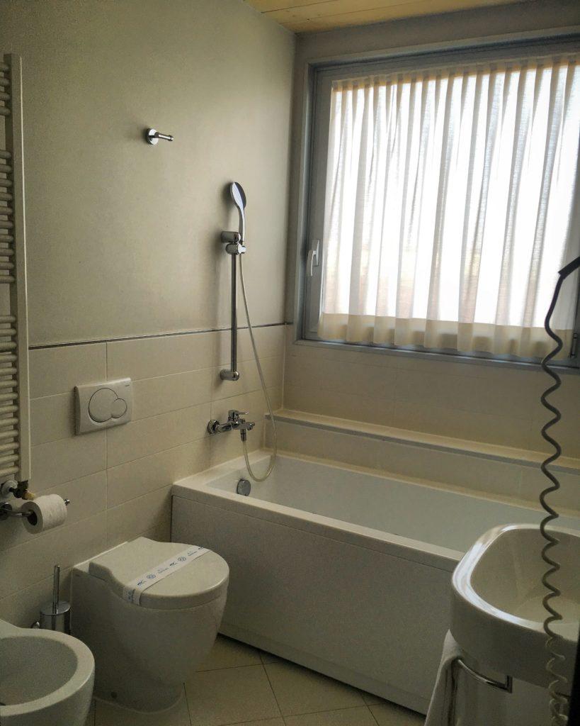 Hotel Mosaico Ravenna bagno